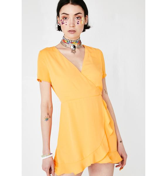 Summa Shenanigans Wrap Dress