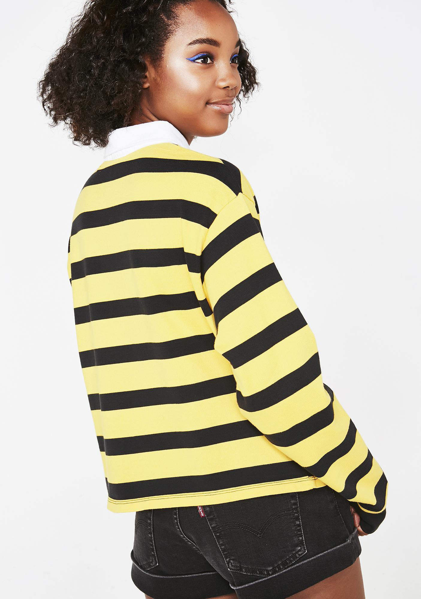 Levis Striped Rugby Top