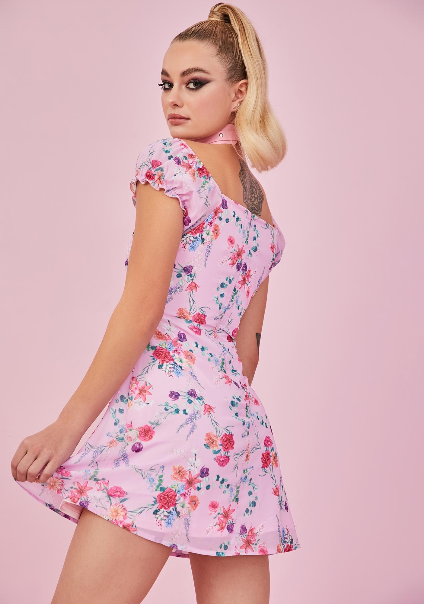 Sugar Thrillz Sweet Tryst Of Fate Mini Dress