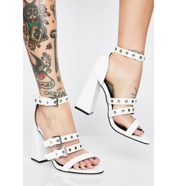 Counting Down Strappy Heels