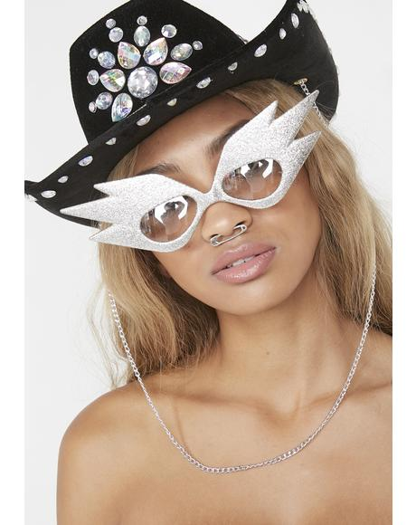 Wonderment Glitter Sunnies