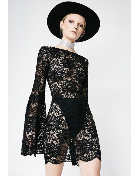 Can We Talk Lace Dress