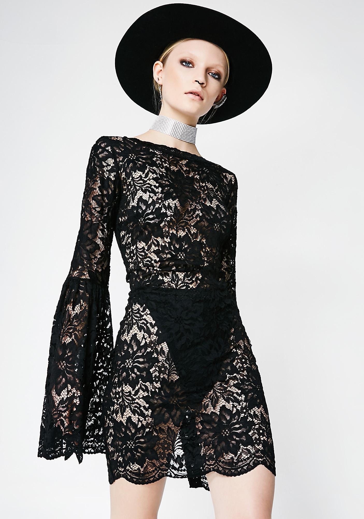 Kiki Riki Can We Talk Lace Dress