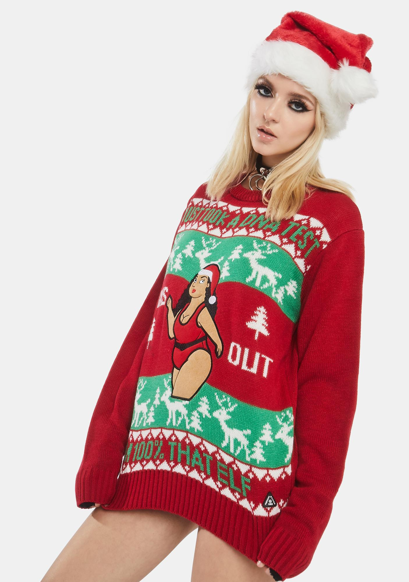 American Stitch 100% That Elf Sweater