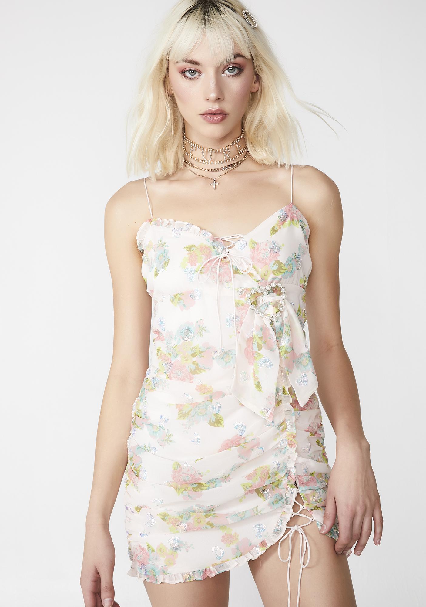 37f3c37310 For Love   Lemons Serafine Mini Dress