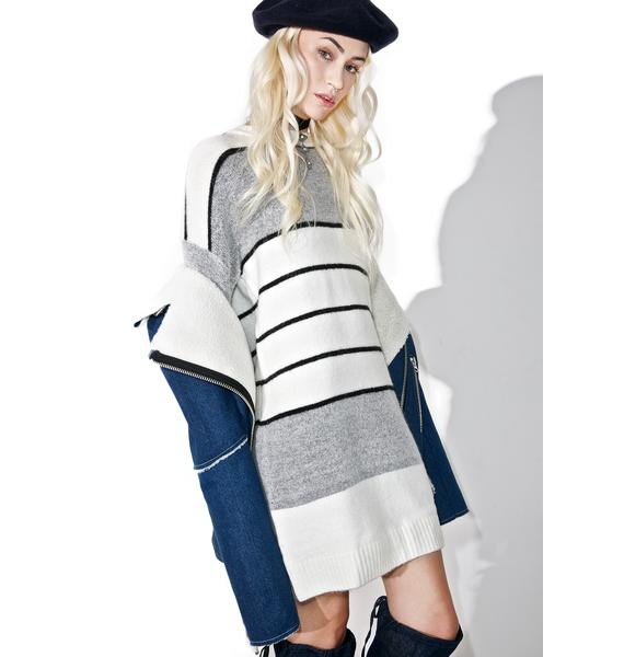 Parisienne Elongated Sweater