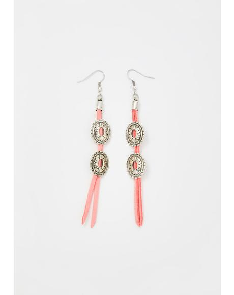 Party Drifters Fringe Earrings