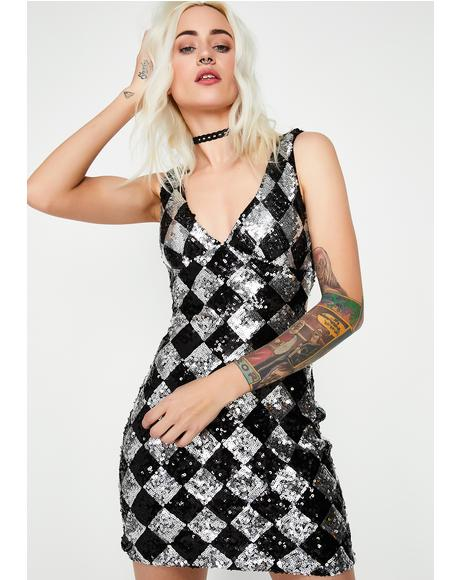 Play It Right Mini Dress