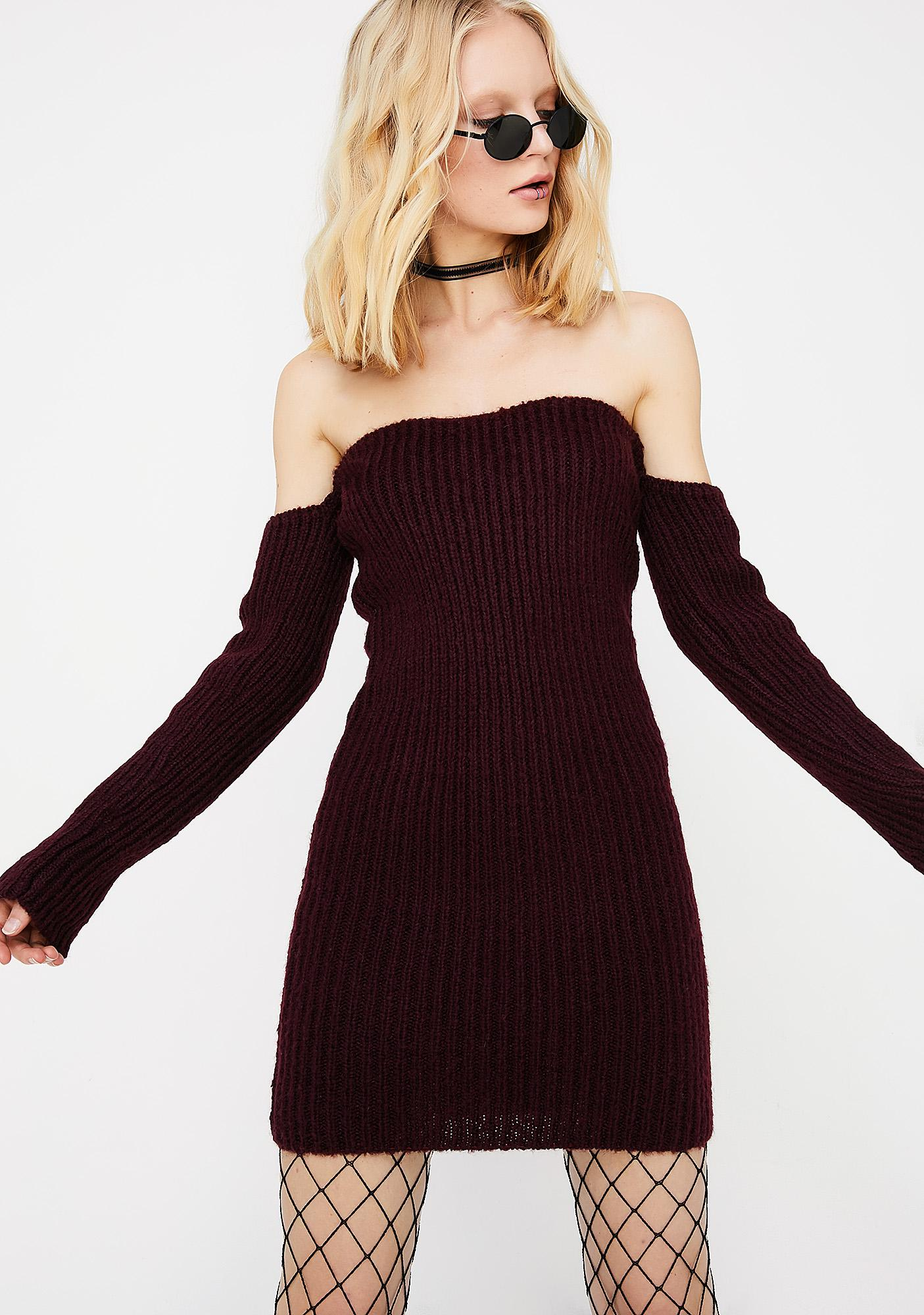 What U Came For Sweater Dress