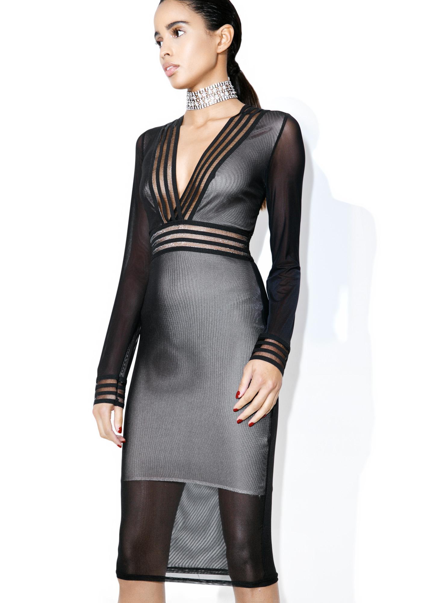 Countdown Sheer Dress