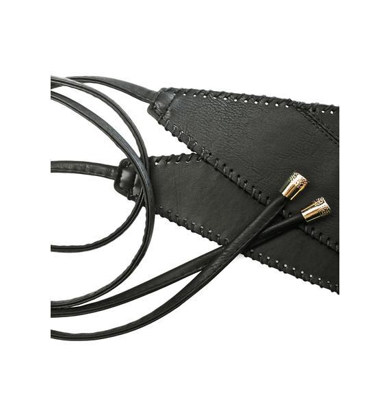 Noir Nights Wrap Belt