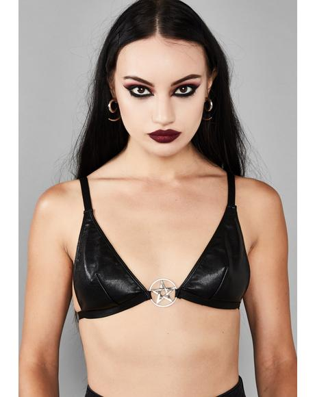 Eternal Fate Pentagram Bra