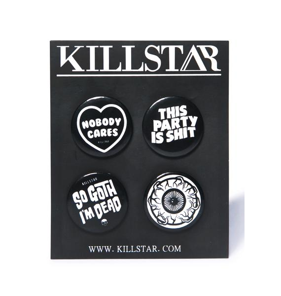 Killstar Pin Pack