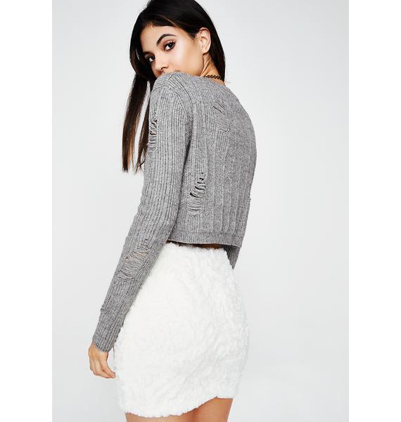Snuggle Up Mini Skirt