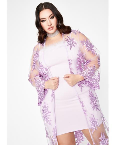 Her Lush Life Sheer Kimono
