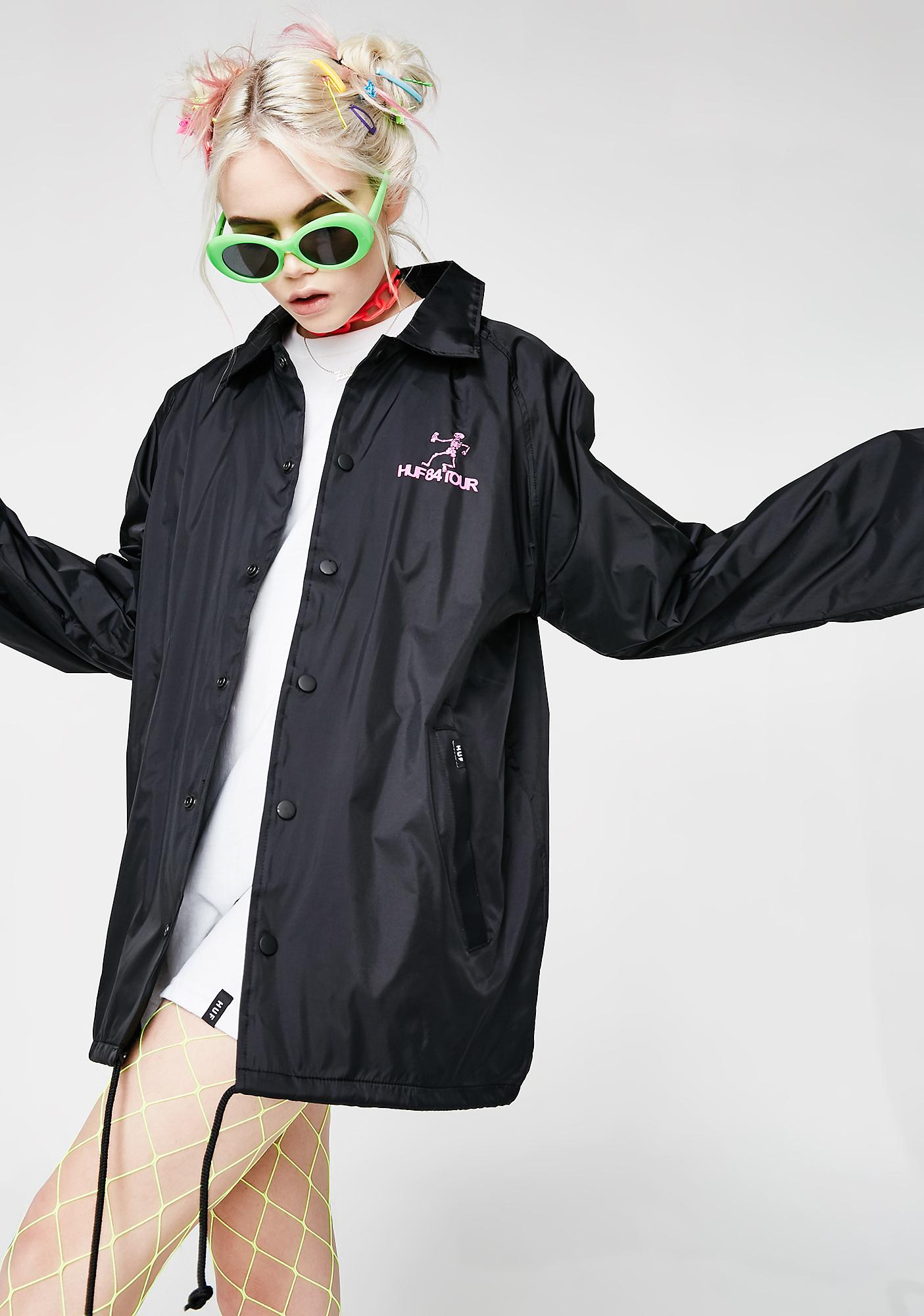 HUF Owsley Coaches Jacket
