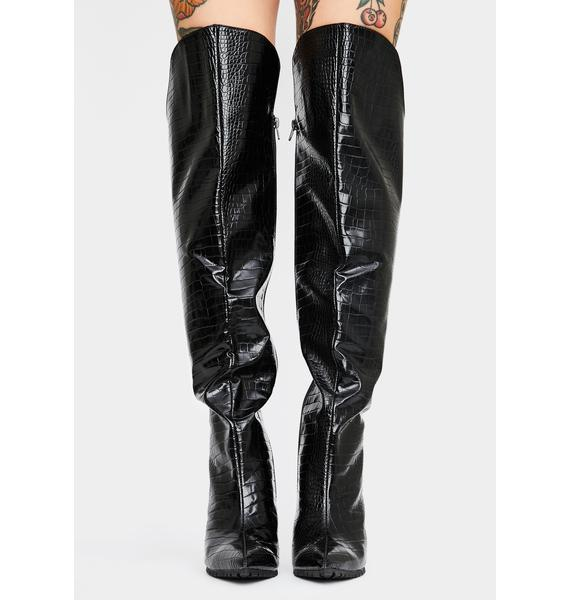 My Type Knee High Boots