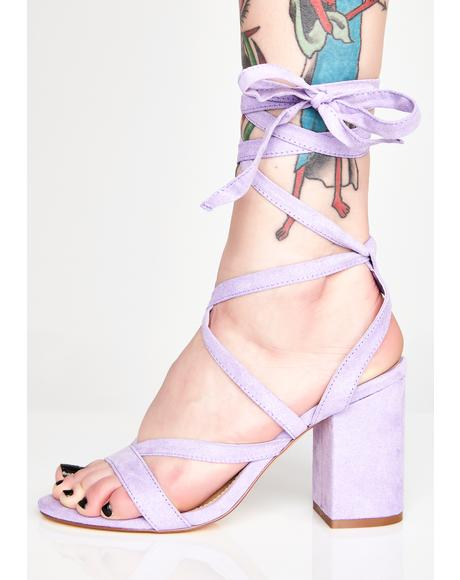 Pixie Walk My Way Wrap Heels