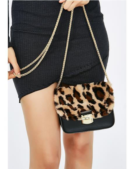 Once A Cheetah Crossbody Bag