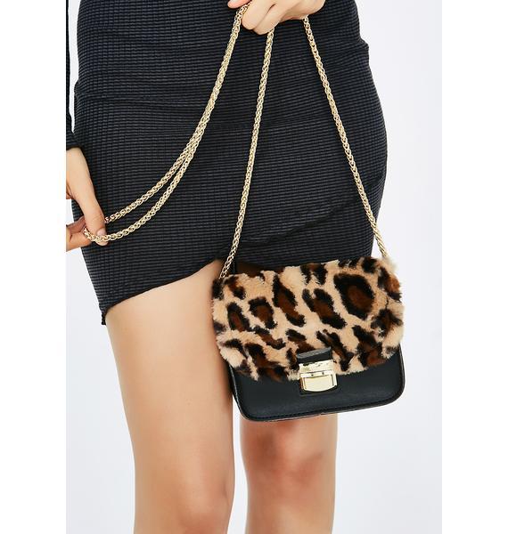 Once A Cheetah Crossbody Bag