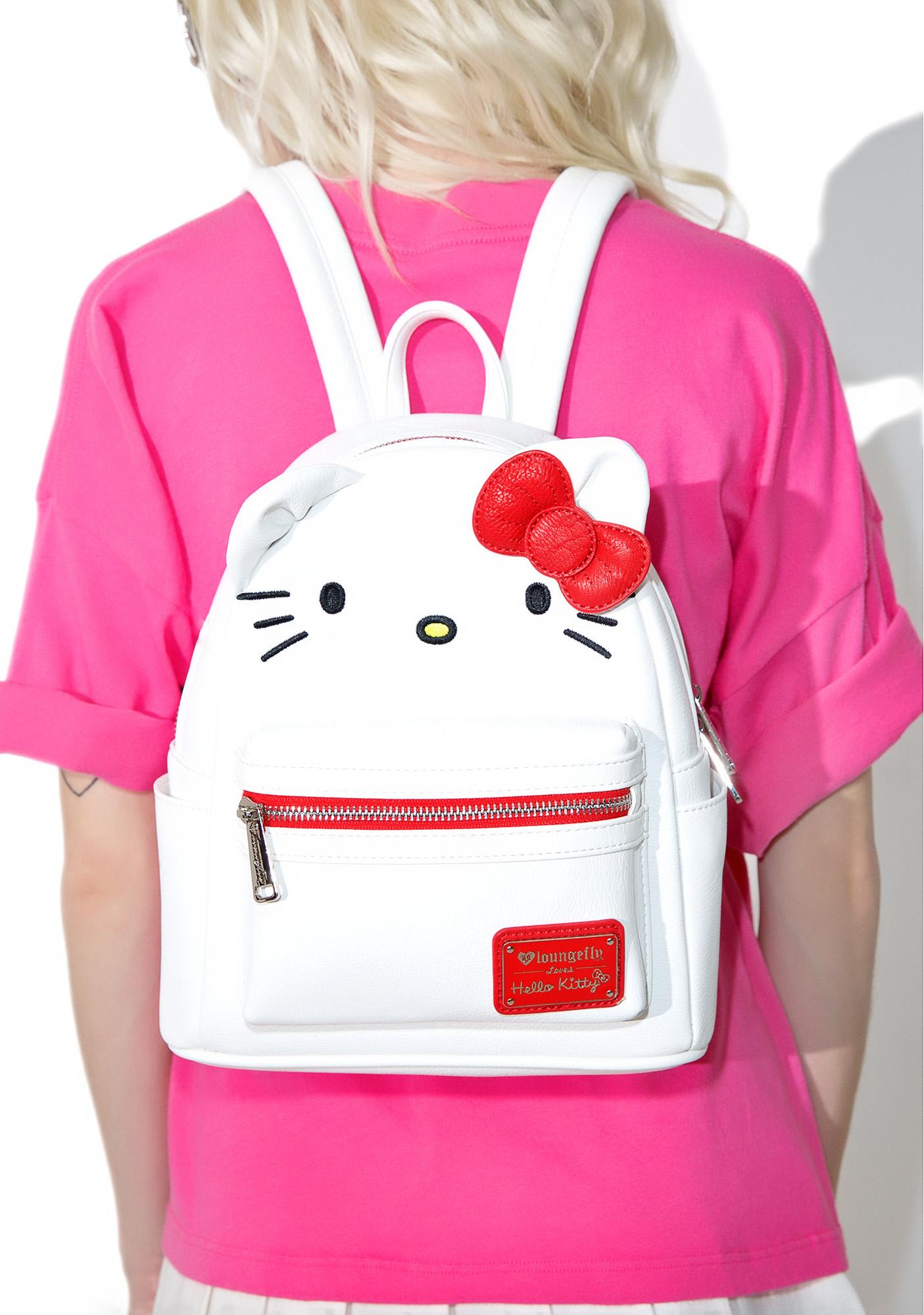 0ef9ffcaa6e Loungefly X Hello Kitty Mini Backpack   Dolls Kill