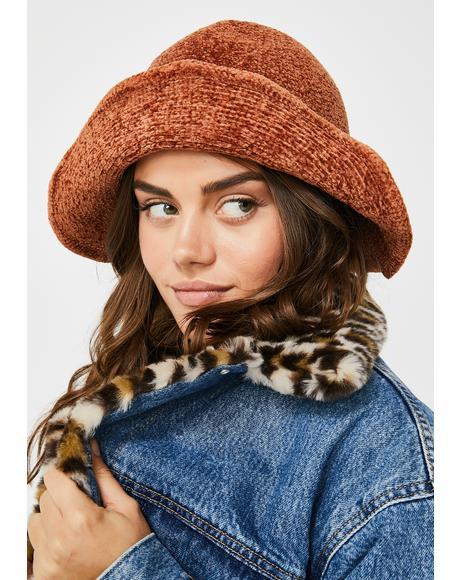 Daze Off Knit Bucket Hat