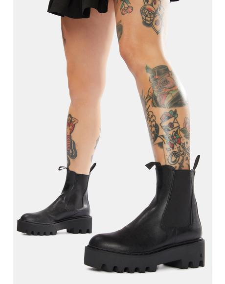 Down For It Chelsea Boots