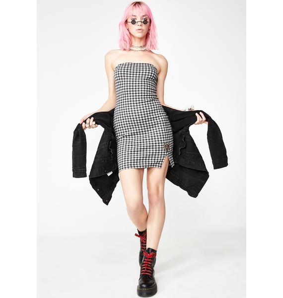 Lethal Lewks Mini Dress