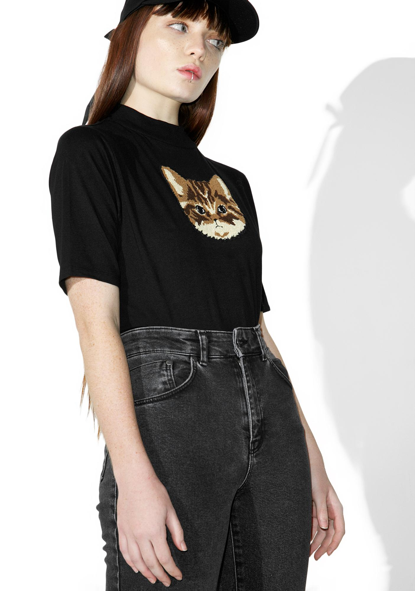 Lazy Oaf Tabby Cat Tee