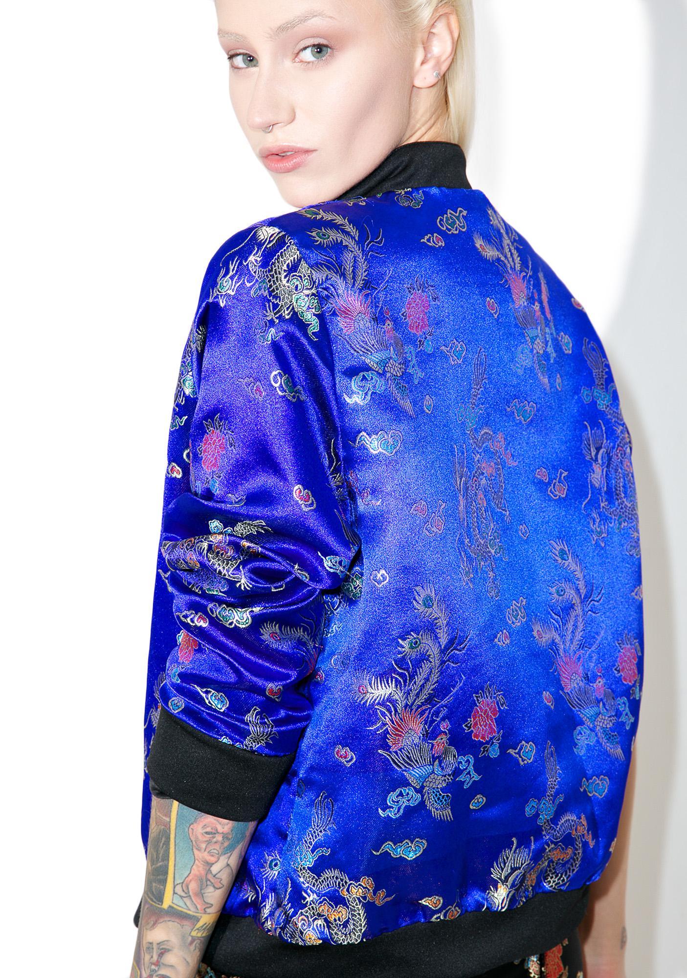 O Mighty Chun Li Bomber Jacket