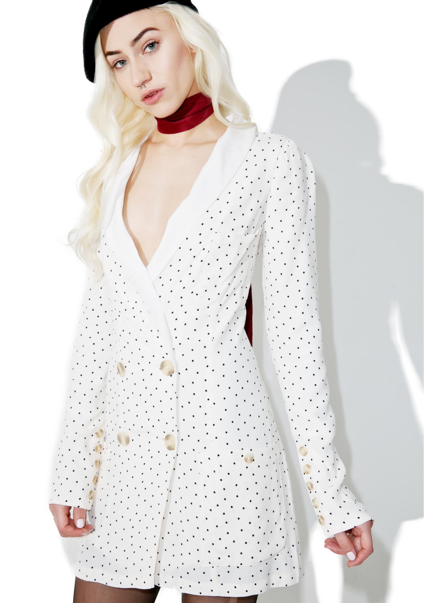 f540d74897249 For Love & Lemons Bianca Blazer Dress | Dolls Kill