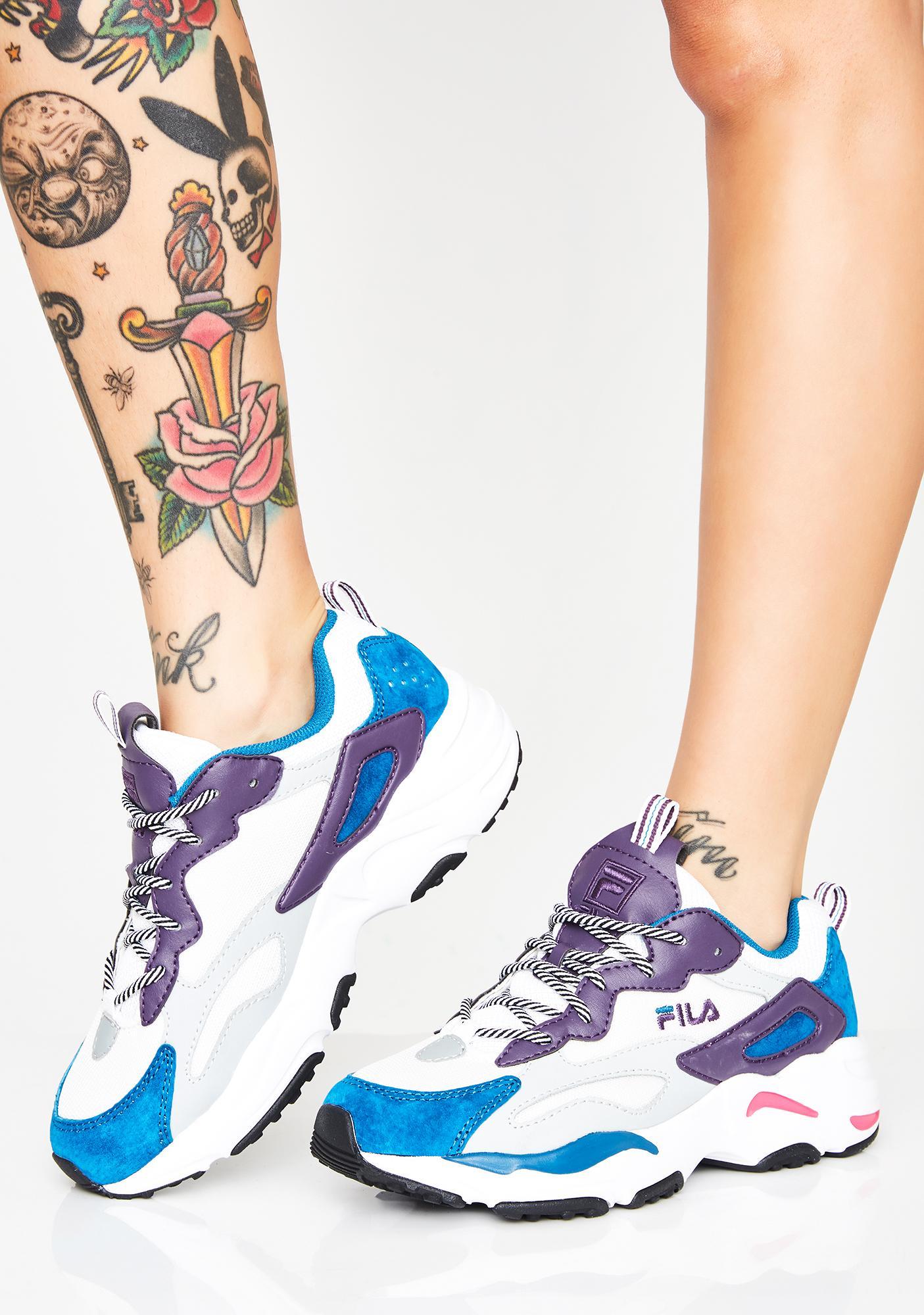 b0b34f8d7e856 Fila Kush Ray Tracer Sneakers