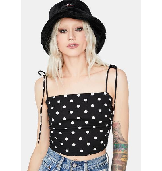 Wicked It's A Mood Polka Dot Cami