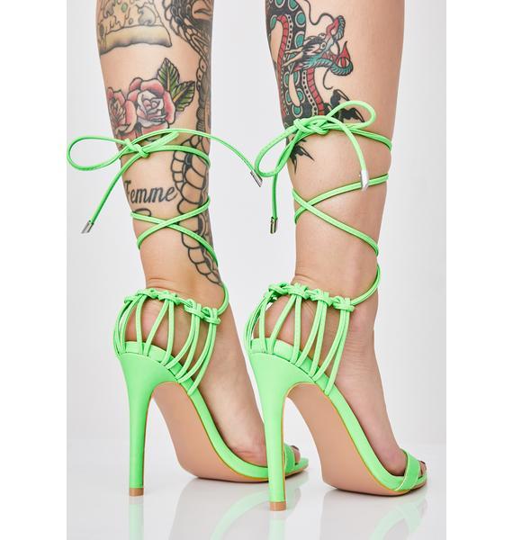 Issa Wrap High Heels