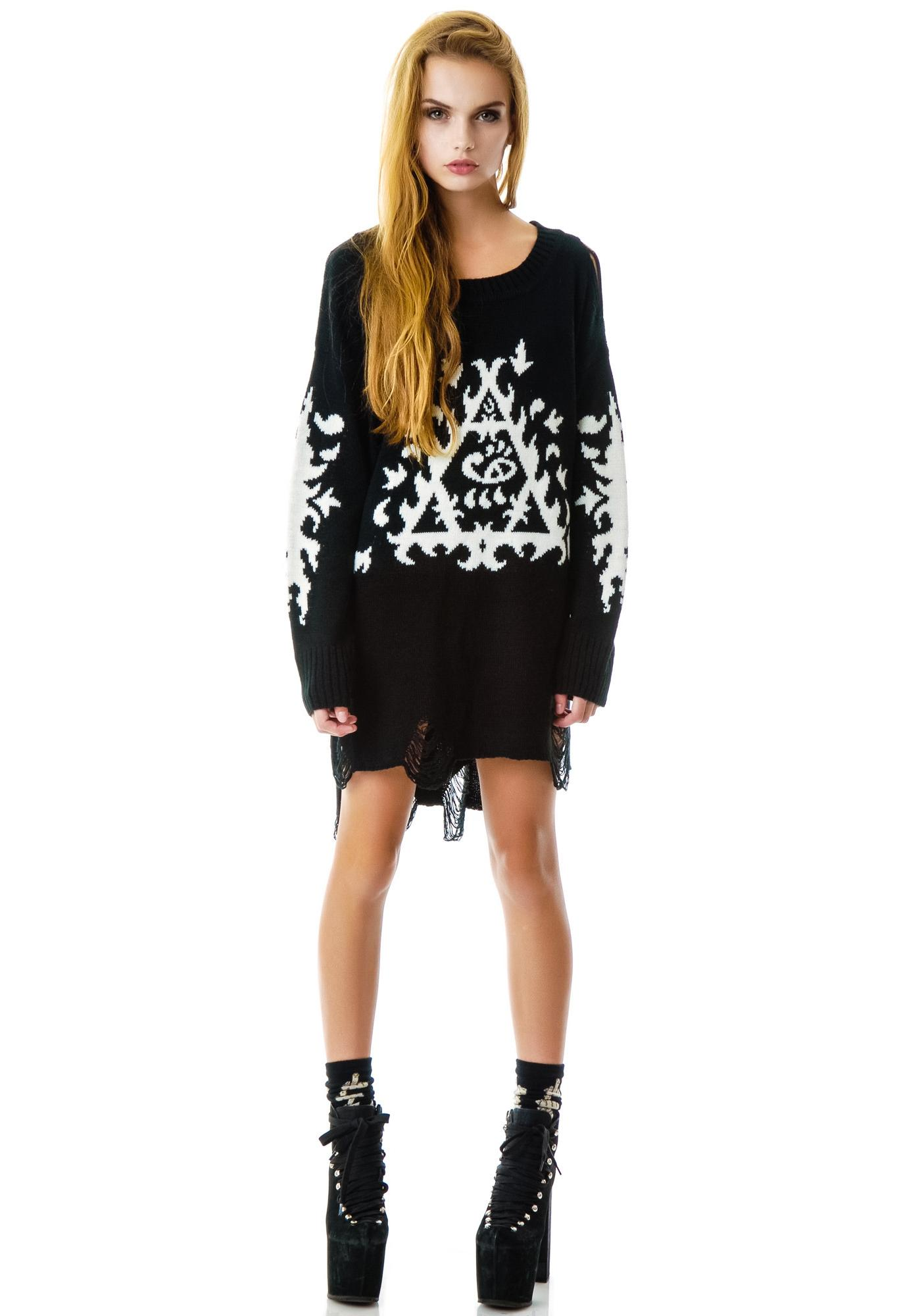 UNIF Ornate Sweater