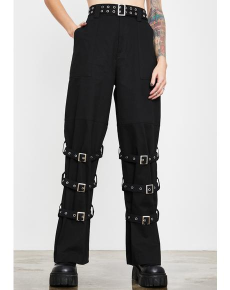 Outside Threat Buckle Pants