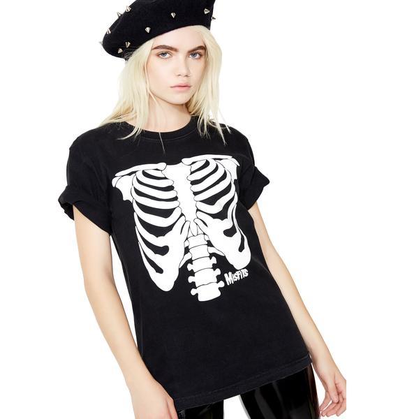 Vintage Misfits Skeletons Tee