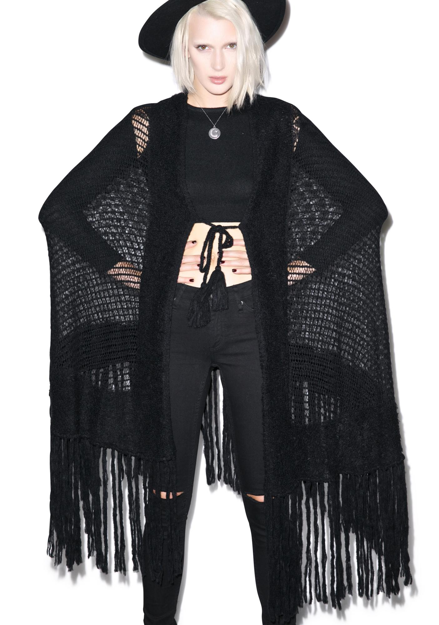 Wildfox Couture Solid Garden Shawl