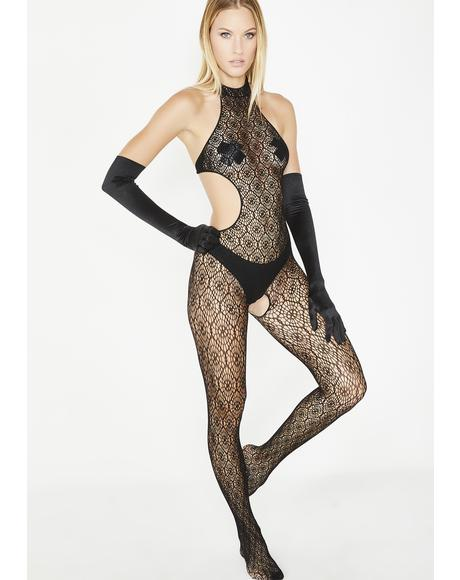 Wild World Crochet Bodystocking