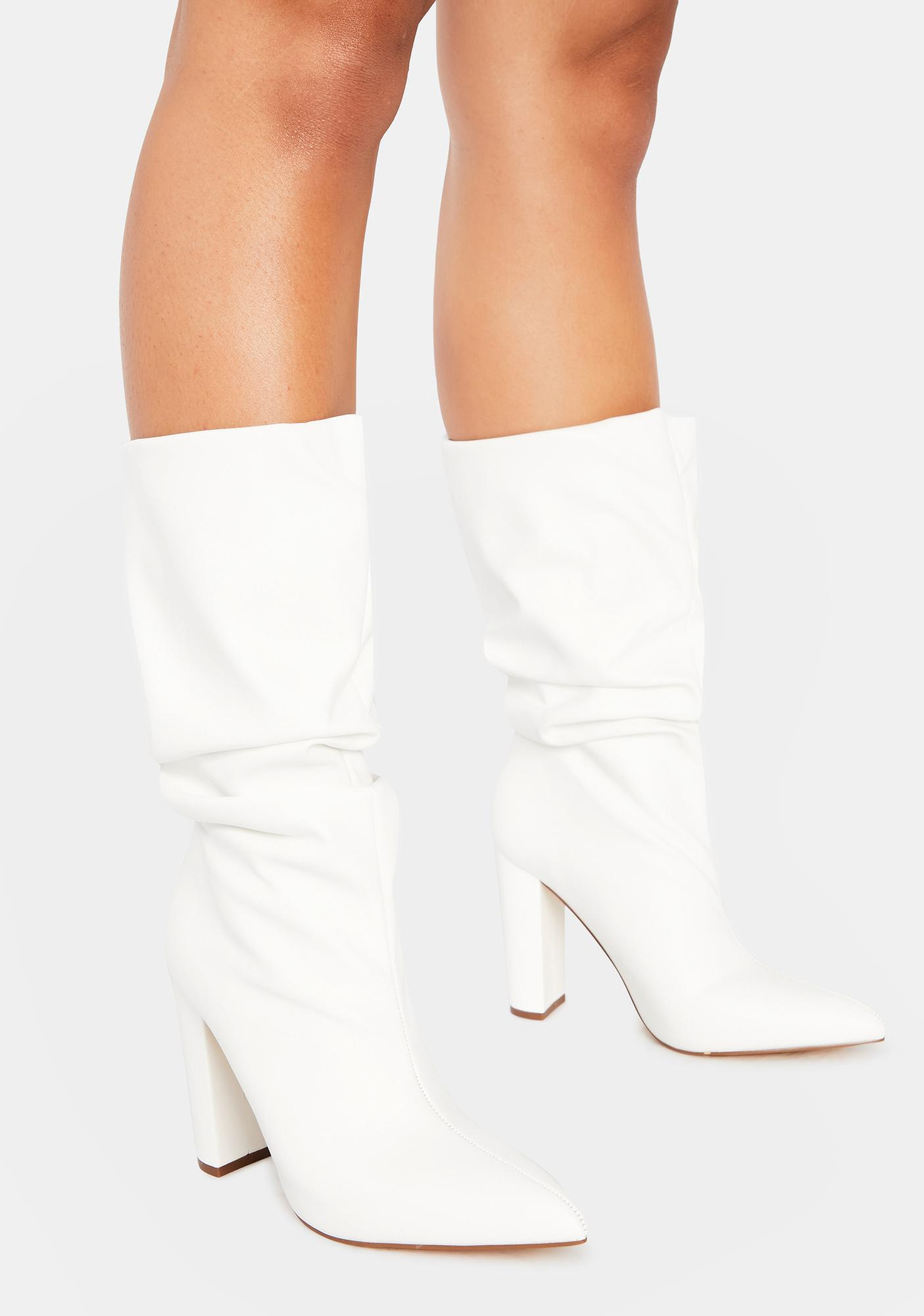 Stay Icy Heeled Booties