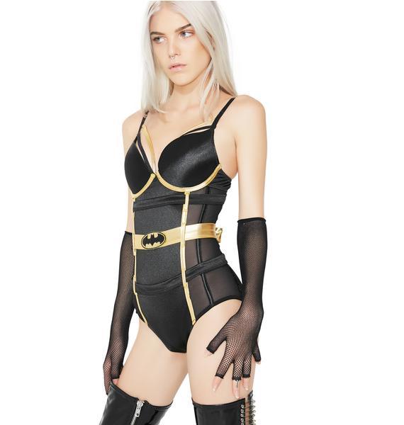 Undergirl Batman Mesh Bodysuit