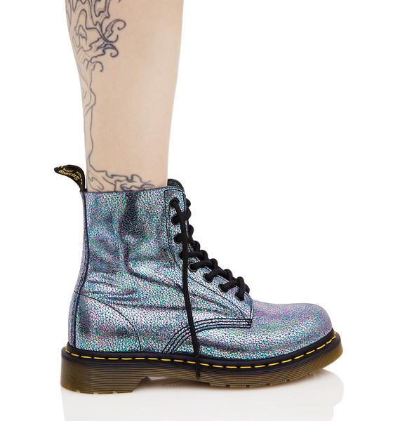Dr. Martens Sparkle Pascal 8 Eye Boots