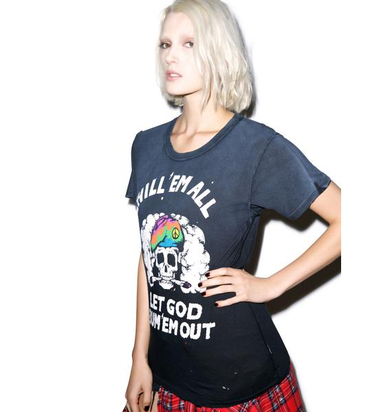 UNIF Chill 'Em All Short Sleeve Tee
