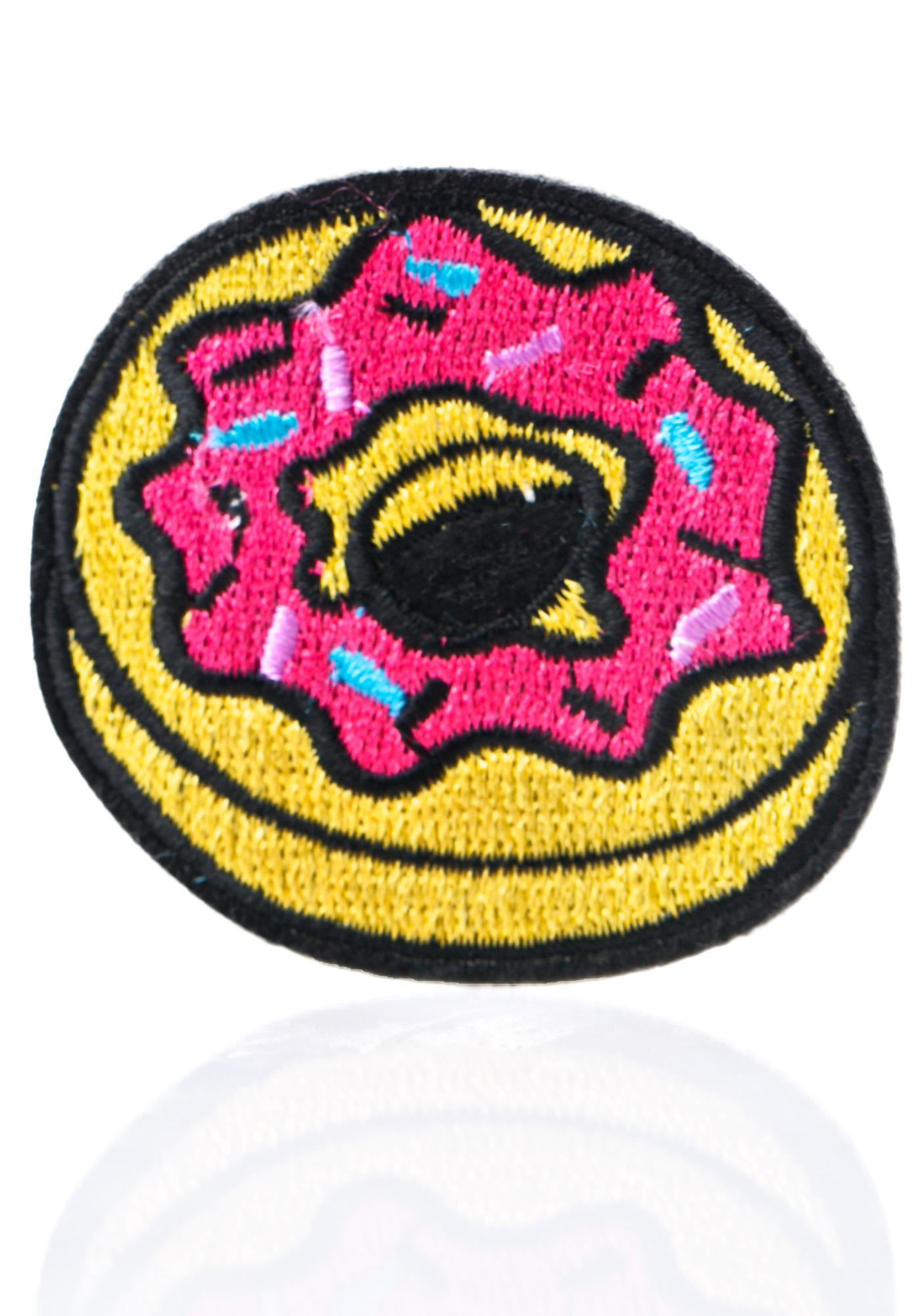 Love And Madness Donut Patch