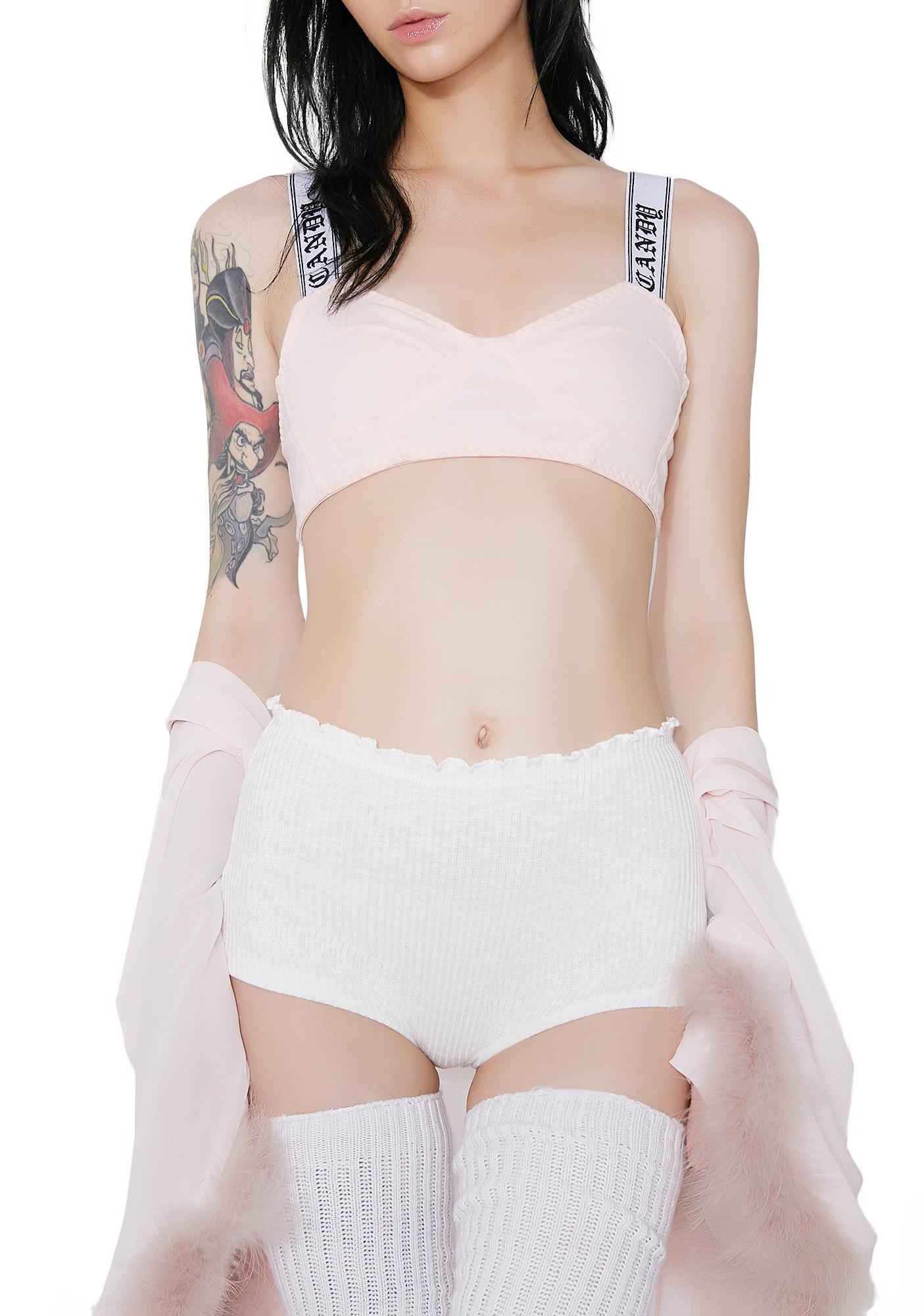 Angelic Lazy Sunday Knit Panties