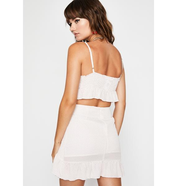 Call Me Never Skirt Set