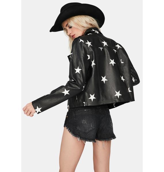Starry Eyed Surprise Moto Jacket