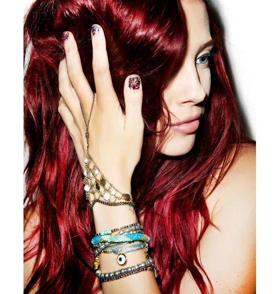 Ettika Open Weave Slave Bracelet