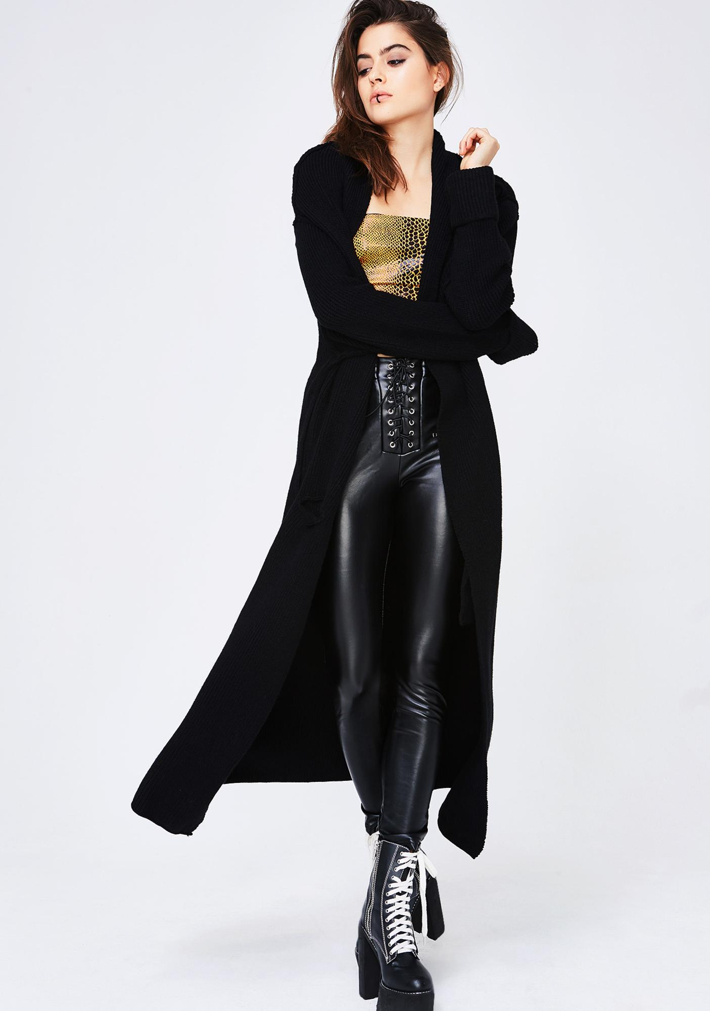 7af6040f0e8 Not Worried Longline Cardigan