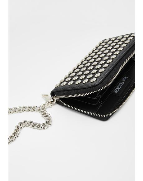 Such A Stud Chain Wallet